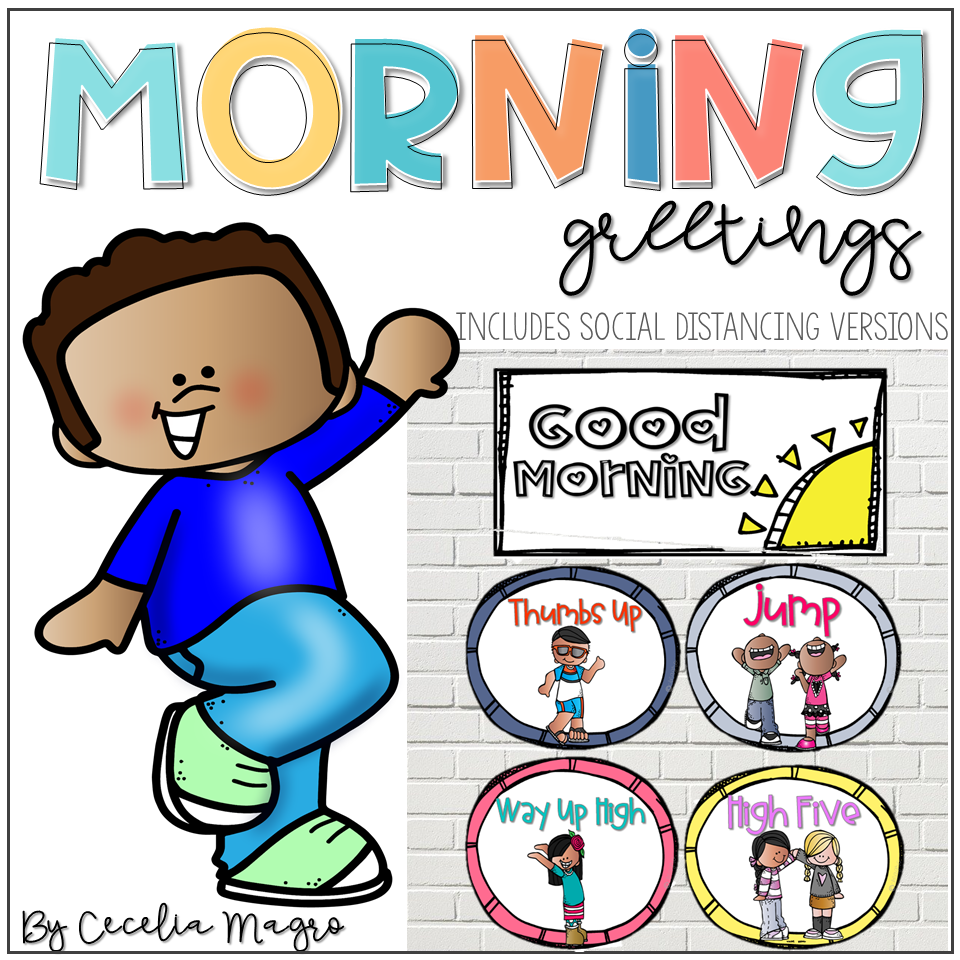 Morning Greeting Choices for Building Relationships